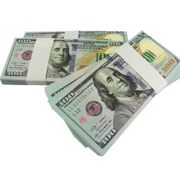 Wholesale Currency Paper - Earliest edition Money banknote USD100 for props and Education bank staff training paper play money currency money children gift