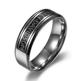 361 серия мотоцикла кольца нержавеющей стали, высоко отполированные кольца людей логотипа Харли от