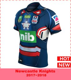 Wholesale El Shirt Iron Man - Newcastle Knights 2017 Marvel Iron Patriot Jersey Latest style sale Rugby Jerseys t-shirt S-3XL