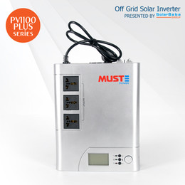 Wholesale Pwm Frequency - MUST POWER PV1100 Plus 2.4KVA High Frequency Modified Sine Wave Solar Inverter with 50A PWM Charge Controller by SolarBaba