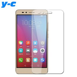 Wholesale Good Screen Protectors - Wholesale-For Huawei Honor 5X Tempered Glass 100% New Good Quality Temperli Protector Screen Film For Huawei Honor 5X 5.5inch
