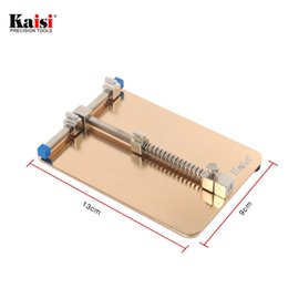 Wholesale Iphone Jig - Kaisi Universal Metal PCB Board Holder Jig Fixture Work Station for iPhone Samsung Mobile Phone PDA MP3 Repair Tool