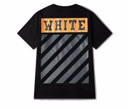 Wholesale Chinese Men S Clothes Fashion - Off White diagonals T-shirt Men Skate Tee American Fashion streetwear HEYBIG Youth hiphop Shirts Chinese Size clothing