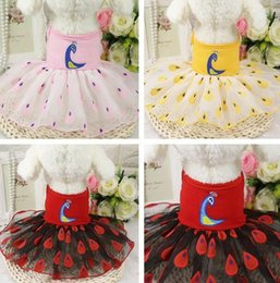 Wholesale Princess Apparel - Pet Dog Clothes Cat Princess Dress Apparel Puppy Wear Pet Costume Dog Tutu Dress Skirt 03#