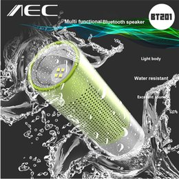 Wholesale Bluetooth Flashlight - AEC BT201 2 in 1 Wireless Bluetooth Speaker Loudspeaker with Mic Support Hands-free Calls Altavoz With Flashlight Function