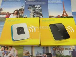 Wholesale Unlocked Mobile Dongle - Wholesale- UNLOCKED ALCATEL Y855 4G MiFi Mobile WiFi Broadband Router Dongle Black white