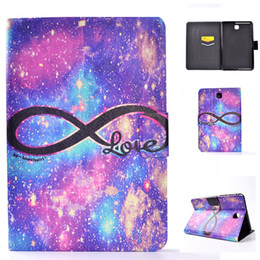 """Wholesale Sleeping Tablets - PU Leather Tablet Case For Samsung Galaxy Tab A 8.0"""" T350 T355 Cover Filp Stand Love balloon Dormancy Sleep Wake Function Desgin"""