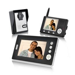 Wholesale Intercom Video Doorbell Two - 2.4Ghz 1V2 Video Doorbell Wireless Two Way Intercom Video Door Phone