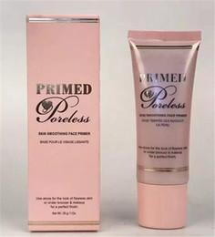 Wholesale Smooth Foundation - faced primed Skin smoothing face Primer New face cosmetic Foundation concealer and Poreless 28g