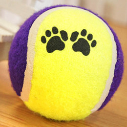 Wholesale Ball Run Toy - Cute Pets Suppliers Dog Cat Tennis Balls Run Play Chew Toys Dog Pet ToysWX