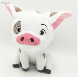"Wholesale Stuffed Plush Halloween - Moana Pet Pig Pua Stuffed Animals Cute Cartoon Plush Toy Dolls Children Gift ( 3pcs Lot Size: 8"" 20cm)"