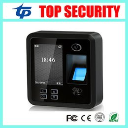 Wholesale Fingerprint Reader Tcp - Wholesale- Free shipping biometric fingerprint time attendance and access control system TCP IP fingerprint reader with free software