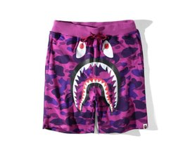 Wholesale Kanye West Pants - aape Mens womens Shorts Pyrex version hipa VIRGIL ABLOH Kanye Hip Hop West casual short pants Bboy streetwear Free shipping