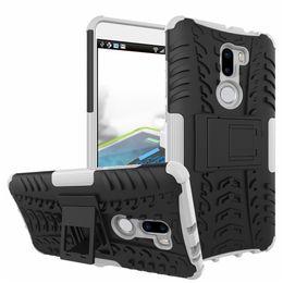 Argentina Caliente ! (5.7 pulgadas) para la caja del teléfono Xiaomi Mi5s Plus 2in1 doble capa Kickstand Heavy Duty armadura a prueba de golpes híbrido de silicona Volver Funda Suministro