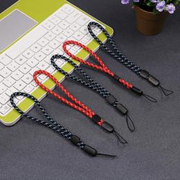 Wholesale Nylon Badge Holder - Multi-purpose Nylon Lanyard Cord Wrist Strap Cord For EDC Gadgets,ID Badge, Cell Phone, Key Holder, Digital Cameras, USB Drives, Car Keys
