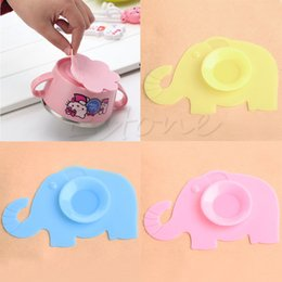 Wholesale Meal Pad - Wholesale- Non-slip Baby Kids Silicone Bowl Meal Mat Suction Pad Tableware Sucker Sticker