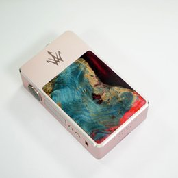 Wholesale Electronic Cigarettes China - Good price woody vape X200 stabilized wood box mod electronic cigarette pen 200W with new GENE chip made from china