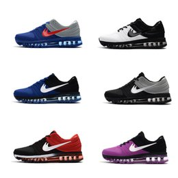 Wholesale Original Brand Shoes For Women - 2017 Best Top Free Shipping Running Shoes For Men Women Max 2017 Brand Plastic KPU Sports Shoes Original Quality 2017 Max Outdoor Sneakers