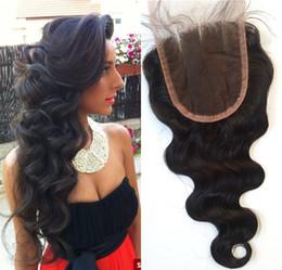 3 Teil Spitzeschliessen Brasilianische Reine Haarkörperwelle Spitzeschliessen 8-22 zoll Menschliches Haar Keine Verwicklung FDSHINE HAAR von Fabrikanten
