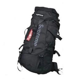 Wholesale outdoor waterproof covers - Mountaineering Climbing Knapsack Outdoor Travel Backpack Pack Waterproof Climb Bagpack Women Bag Pack with Cover