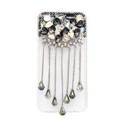 pour iphone 5 5s se 6 6s 7 8 plus X Luxe coeur Diamant cristal Shine Pendentif téléphone soft housse ? partir de fabricateur