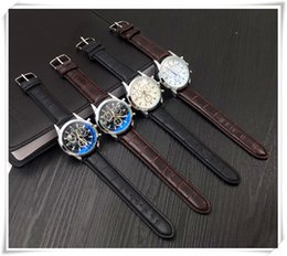 Wholesale Eyelid Glasses - Blue glass three eyelids with men's watch male fashion men's gift