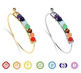 Wholesale Balance Channel - NEW Fashion Bracelets For Women 2017 Chakras Natural Stone Bracelets Sparkling Crystal Yoga Healing Balance Beads Bracelets Bangles AA130