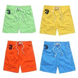 Wholesale Elegant Horse - High quality fashion brand 2017 summer men's shorts elastic waist belt elegant beach cuffs leisure shorts horse standard embroidery DHL size