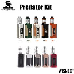 Wholesale Ecig Charges - 100% Original Wismec Predator 228W Kit With Elabo Atomizer Ecig Vape Mod Power Bank to Charge Other Electronic Devices