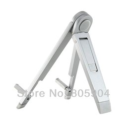 "Wholesale Tablet Pc Stand Portable Foldable - Wholesale- Universal Portable Foldable Aluminum Stand Holder for Tablet PC 5.5"" 6.5"" 7"" 7.85"" 7.9"" 8"" 8.9"" 9"" 9.4"" 9.7"" 10.1"""