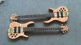 Wholesale Quilted Mahogany - Wholesale-2016 new + factory + ken smith 5 strings bass quilted maple top active pickups custom ken smith electric bass Free shipping