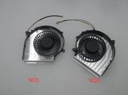 Wholesale Msi Cooler - OEM-CPU AND GPU Cooling Fan For MSI GE72 GE62 PE60 PE70 GL62 GL72 2QD 2QE 2QF PAAD06015SL 3pin 0.55A 5VDC N303 N302