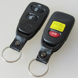 Wholesale Hyundai Keyless - Replacement Remote Key Shell 2 Button +Panic For HYUNDAI Tuscon Accent Keyless Entry Case Fob 2+1 BUTTON