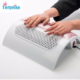 Wholesale Vacuum Fan - Wholesale- Nail tools - Nail suction Dust Collector Machine Vacuum Cleaner with 3 fans + 3 bags Salon Tool 110V or 220V