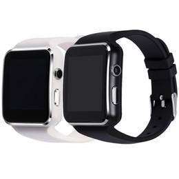 2019 câmera bluetooth de relógios inteligentes 2019 bluetooth smart watch x6 smartwatch rastreador de fitness sync mensagem para android com suporte a câmera sim cartão tf desconto câmera bluetooth de relógios inteligentes