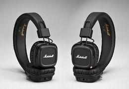 2019 annulation du bruit sur l'oreille MAJOR II Bluetooth Casque Sans Fil Hifi Basse Casque Métal Rock Écouteurs Antibruit Écouteurs Sur L'oreille Casque Livraison gratuite promotion annulation du bruit sur l'oreille
