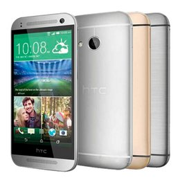 Wholesale Mini One Android Phone - Original Refurbished HTC ONE MINI 2 Quad Core 4.5 inch 1GB RAM 16GB ROM 13MP Camera WIFI GPS WCDMA Unlocked Smart Mobile Phone DHL 5pcs