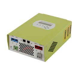 Wholesale Dc Lan - RV Battery Charge Controller 50 Amp 12V 24V 48V with WIFI  LAN Control, DC Loads Working Time Control