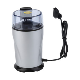 Wholesale Quality Coffee Grinder - 2017 High Quality 130w Coffee Beans Grinding Machine Household Electric Grinder Coffee Mill Gristmill Flour Powder Crusher