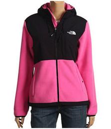 Wholesale Womens Long Hoodie Coats - The North Womens Denali Fleece Hoodies Jackets Fashion Casual Warm Windproof Ski Face Kids Coats Best Price Jackets Suits S-XXL