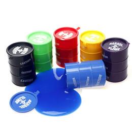 Wholesale Jokes Pranks Gags - Funny Kids Paint Oil Slime Toy Barrel O Slime Prank Trick Joke Gag Oil Drum Paint Bucket Gag Slime Play Joke Toys