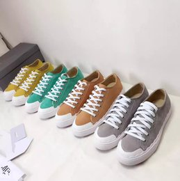 Wholesale Mint Candy Color - Candy color Genuine Leather Lace-Up Luxury Brand Women's Flat Casual Shoes Round Toe Top Rubber Outsole 35-40