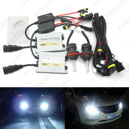 Wholesale Hid Slim Ballast Kit 55w - Car Headlight AC12V 55W H13 Xenon Bulb Hi Lo Beam Bi-Xenon Bulb Light Slim Ballast HID Kit #4553