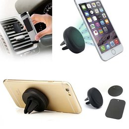 Wholesale Universal Cell Phone Dash Mount - 360 Degree Universal Magnetic Support Cell Phone Car Dash Holder Stand Mount For iPhone 4 5 6 Samsung LG