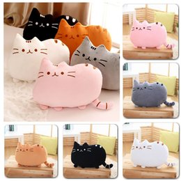 Wholesale kawaii cushion - Plush Toy stuffed Animal Doll Anime Toy 25cm Pusheen Cat for Girl Kid Kawaii Cute cushion Car Decoration Brinquedos
