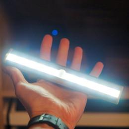 2019 встроенные аварийные фонари 2016 горячие продажи 10 LED ИК инфракрасный детектор движения беспроводной датчик освещения шкаф ночь аккумуляторная лампа шкаф свет