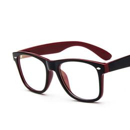 683295d974 Wholesale- 2016 Brand New Hipster Eyeglasses Frames 2182 Oversized Prescription  Glasses Women Men Fake Glass