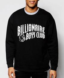 Wholesale Fashion Clothes Boys - Wholesale-Billionaire Boys Club 2016 new fall winter fashion BBC men sweatshirt cotton brand clothing streerwear hip hop hoodies