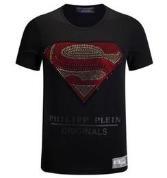 Wholesale Diamond T Shirts - 2017 new Brand-clothing skulls diamonds t-shirt men summer fashion short sleeve men t shirt O-NECK MEN dsq T-SHIRT SIZE M-3XL