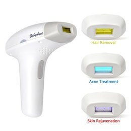 Wholesale Permanent Hair Removal Systems - 3 in1 Armpit hair Bikini IPL Laser Permanent Hair Removal System Epilation Removal Acne Photorejuvenation bulb flash 100V-240V